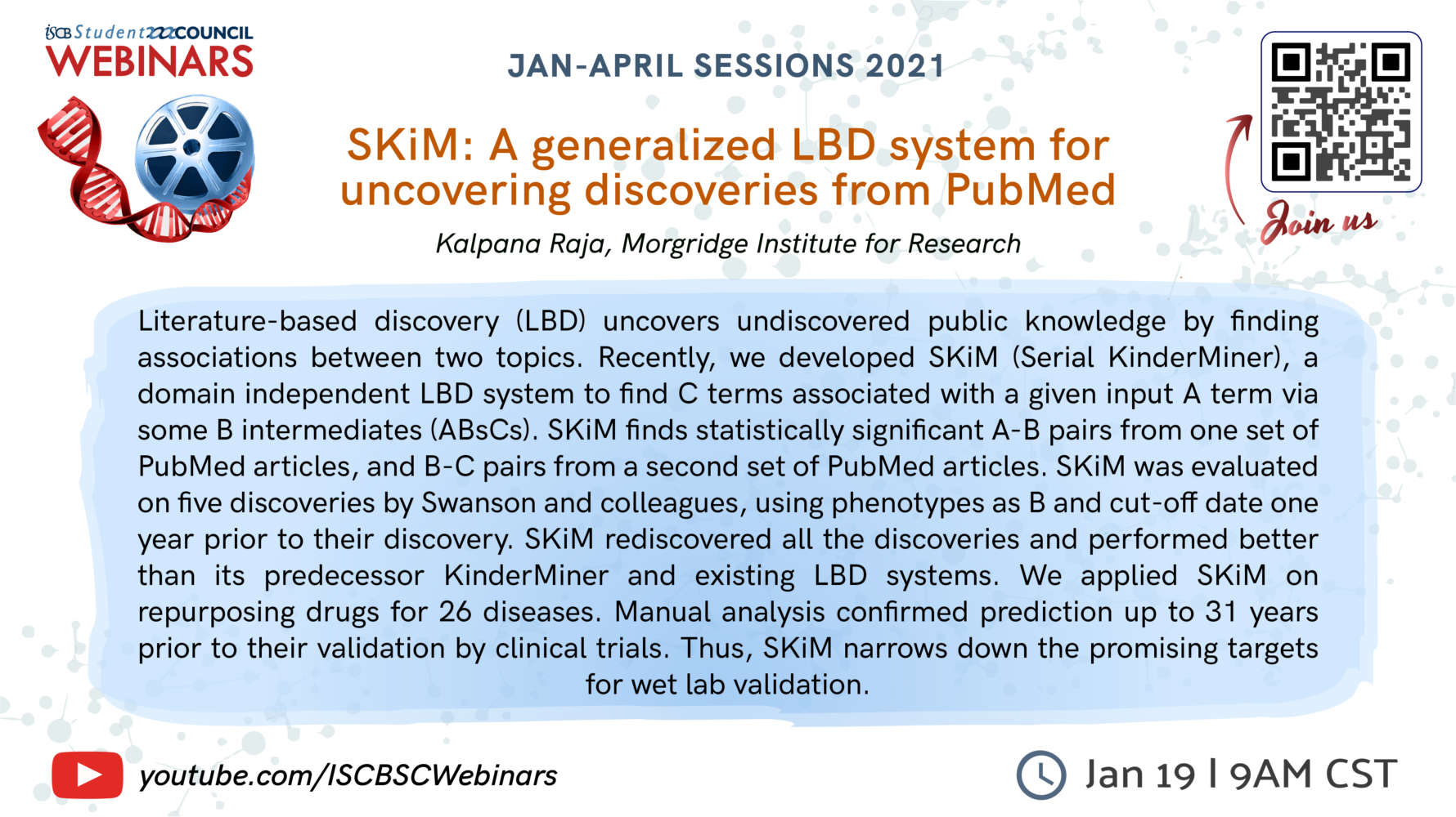 SKiM: A generalized LBD system for uncovering discoveries from PubMed